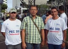 Soldado Gomes, Soldado Prisco e Sargento Araújo