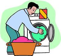 lavando ropa
