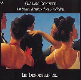 Donizetti - Un Italien à Paris (Duos & Mèlodies) - Les Demoiselles De... (flac)