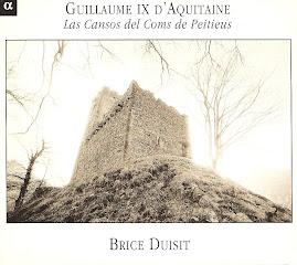Guillaume IX D'Aquitaine - Las Cansos del Coms Peitieus - Brice Duisit (flac)