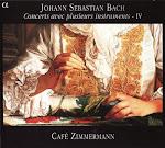 Bach JS - Concerts avec plusieurs instruments IV - Cafe Zimmermann (Ape)