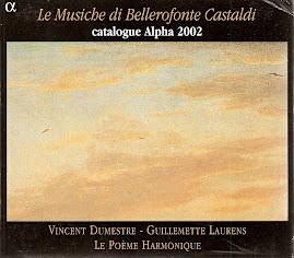 Castaldi - Le Musiche di Bellerofonte Castaldi - Le Poeme Harmoniqe - Dumestre (flac)