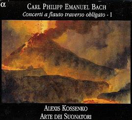 Bach CPE - Concerti a flauto traverso obligato I - Kossenko, Arte dei Suonatori (flac)