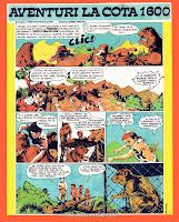 revista cutezatorii benzi desenate aventuri la cota 1600 constantin diaconu desene sorin anghel comics romania