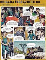 bd benzi desenate revista cutezatorii valentin liana tanase desene ilie tanasache comics romania