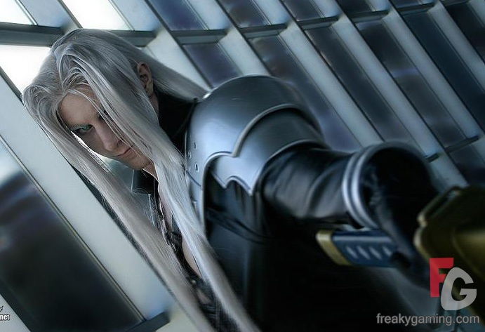 sephiroth wallpaper. The baddie in Final Fantasy