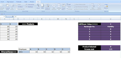 how to put a percentage calculation in access query