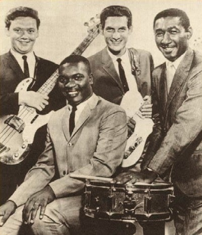 First interracial rock and roll group
