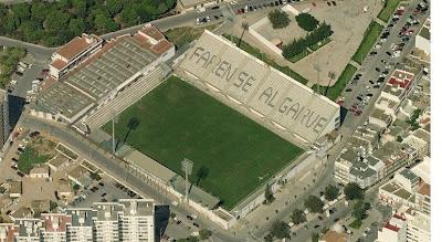 Estádio de São Luís visto de Satélite