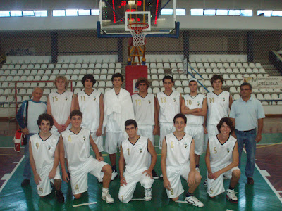 Júniores do basquetebol masculino do Sporting Clube Farense
