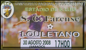 Júniores do Farense iniciam a caminhada na 1ª Divisão neste Sábado