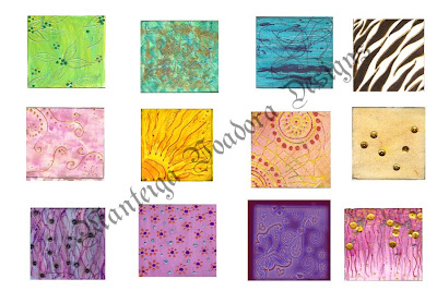 exotic waves manteiga voadora designs fabric swatches sketches