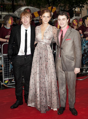 Emma Watson At Premiere of Half Blood Price