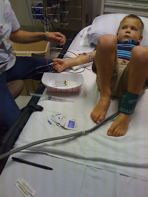 Glucose Tolerance Test. Luke#39;s IV Glucose Tolerance Test