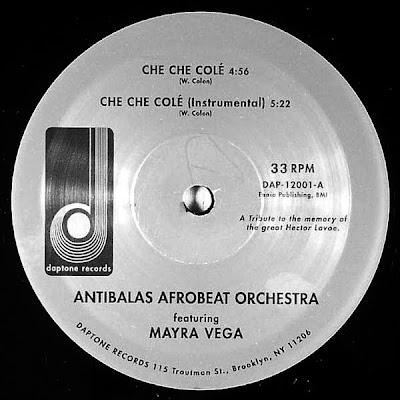 Antibalas Afrobeat Orchestra feat.Mayra Vega - Che Che Col?? (VLS) (2003)