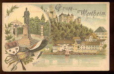 1890's Wertheim Postcard