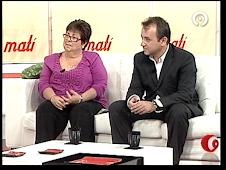 INTERVENCIÓN DE ENRIQUE VILA Y VICENTA, MADRE DE LA CASA CUNA SANTA ISABEL, EN CANAL 9