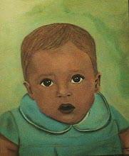 retrato de un bebé