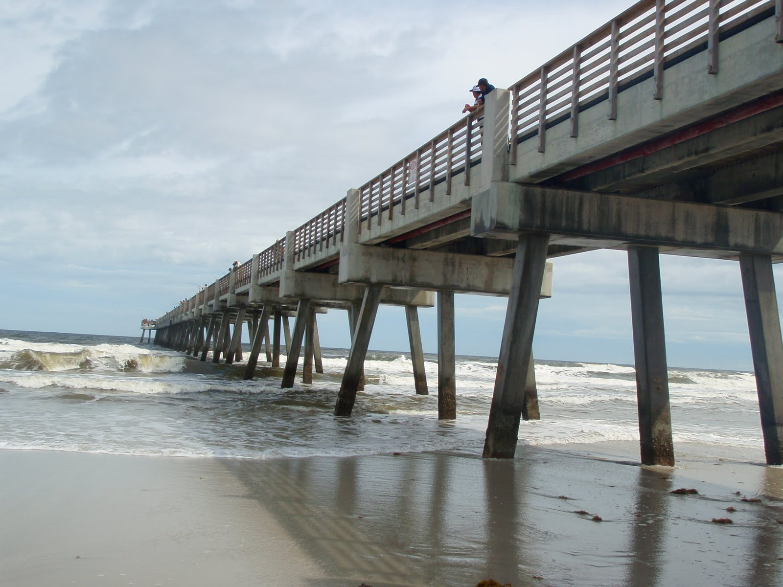Ashley running life 39 s adventures one mile at a time for St augustine fishing pier