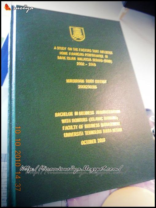 Contoh proposal thesis uitm