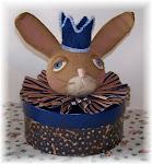Primitive Bunny Box