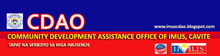 COMMUNITY DEVELOPMENT ASSISTANCE OFFICE