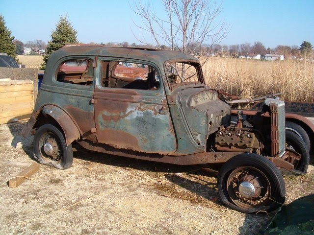 The Vintage Metal Blog: 1934 Ford Victoria - Project For Sale