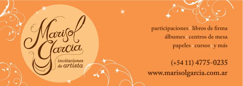 Marisol Garcia Invitaciones de Artista - NOVEDADES