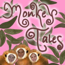 For more Monkey Tales visit Grandma's blog. Just click on the image below