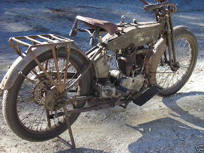 Correct but expensive 1915 Harley motorcycle on ebay