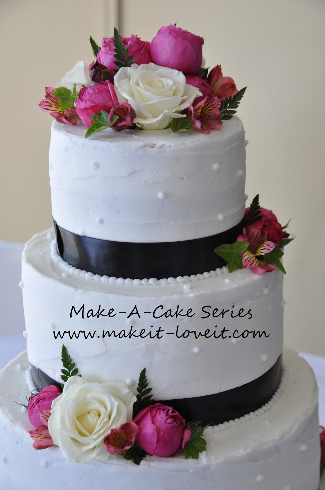 Make a cake series wedding cakes make it and love it junglespirit Choice Image