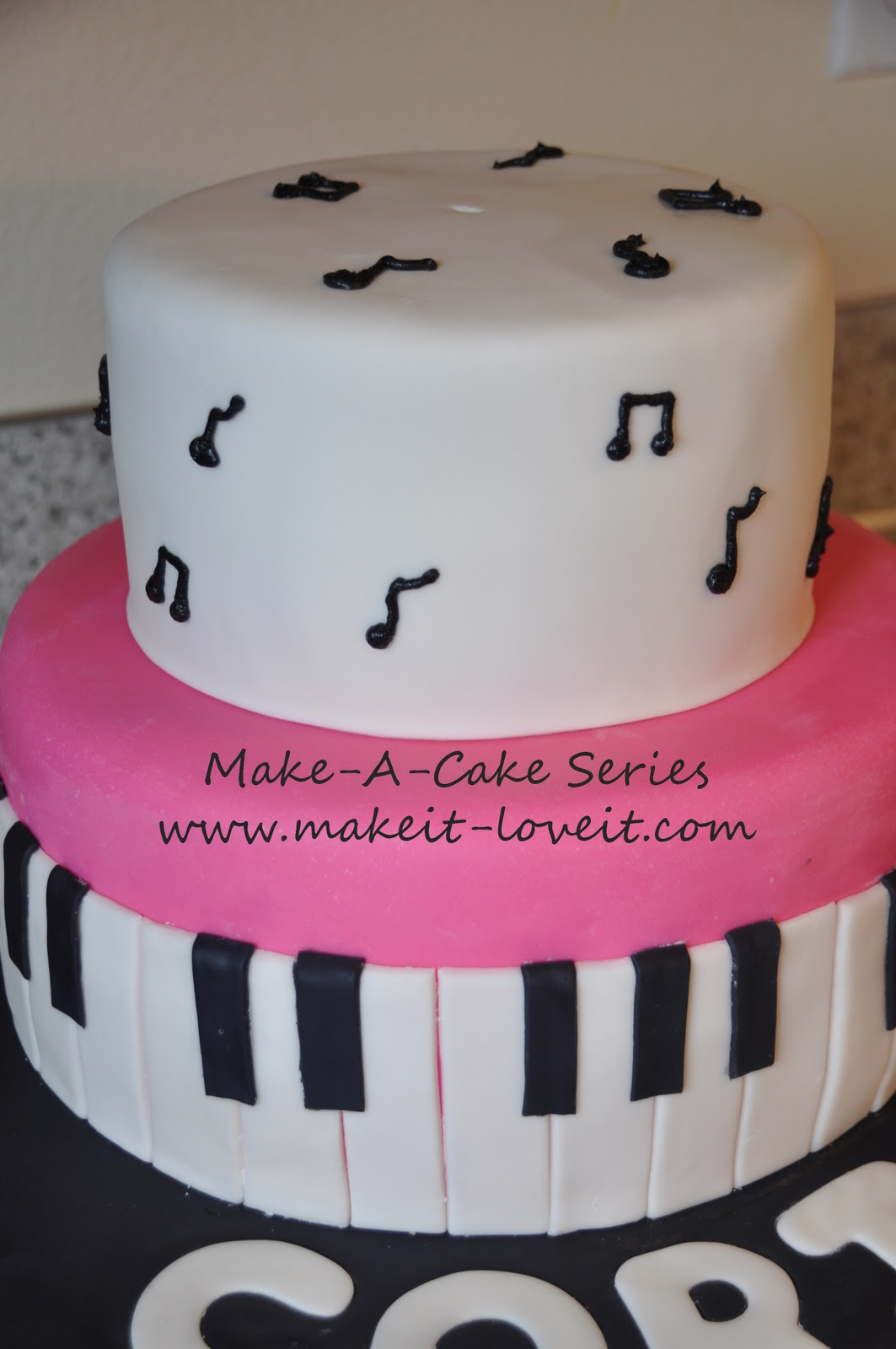 Make A Cake Series Music Cake Make It And Love It