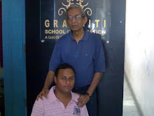 Me with The Father of Indian Animation