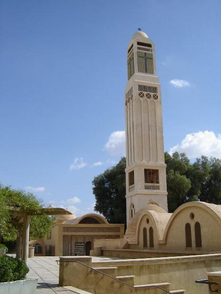 St. Mary Syrian (Al Sourian) Monastery in Wadi Natrun (Photo:  http://mistersaly.blogspot.com)