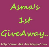 ASMA'S 1ST GIVEAWAY