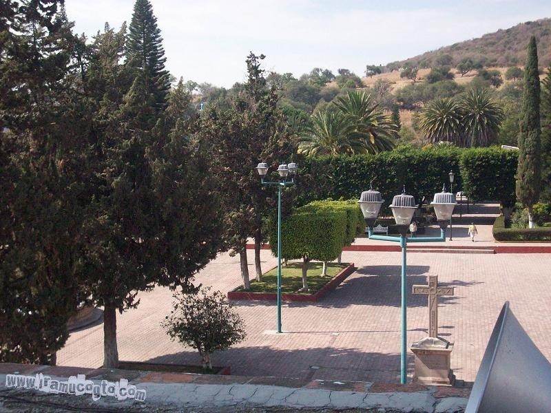 El atrio y el jardín Irámuco, Gto