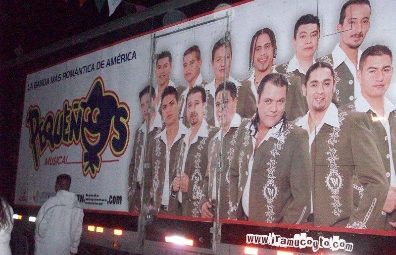 Banda pequeños musical en Irámuco, Gto