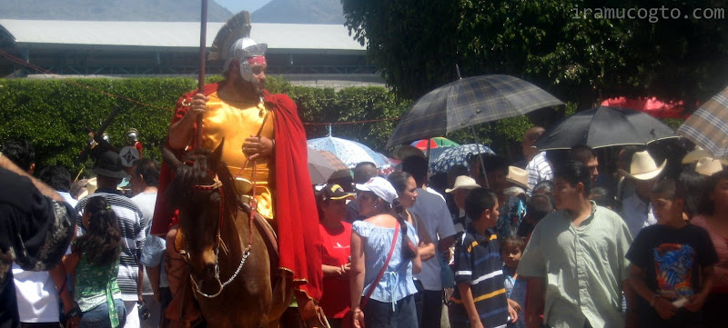 Semana Santa en Irámuco, Gto