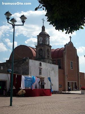 Fachada de Iglesia San Jeronimo de Iramuco IramucoGto.com