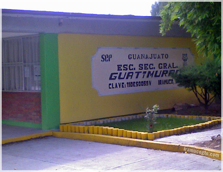 Esc. Sec. Gral. Guatimurac - Iramuco, Gto