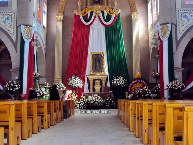 Altar de la iglesia San Jeronimo 12 de diciembre 2009