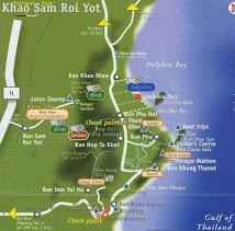 Map of Khao Sam Roi Yot