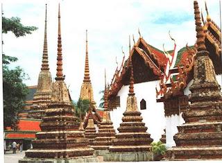 Wat Pho or Wat Phrachetuphon, Bangkok