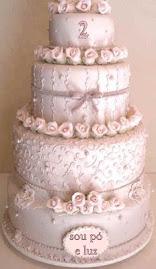 O bolo do 2º Aniversário do blog da Mariz