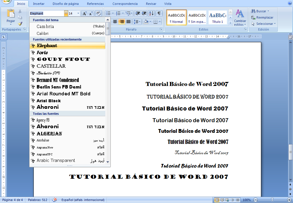 Suficiente Microsoft Word WC12