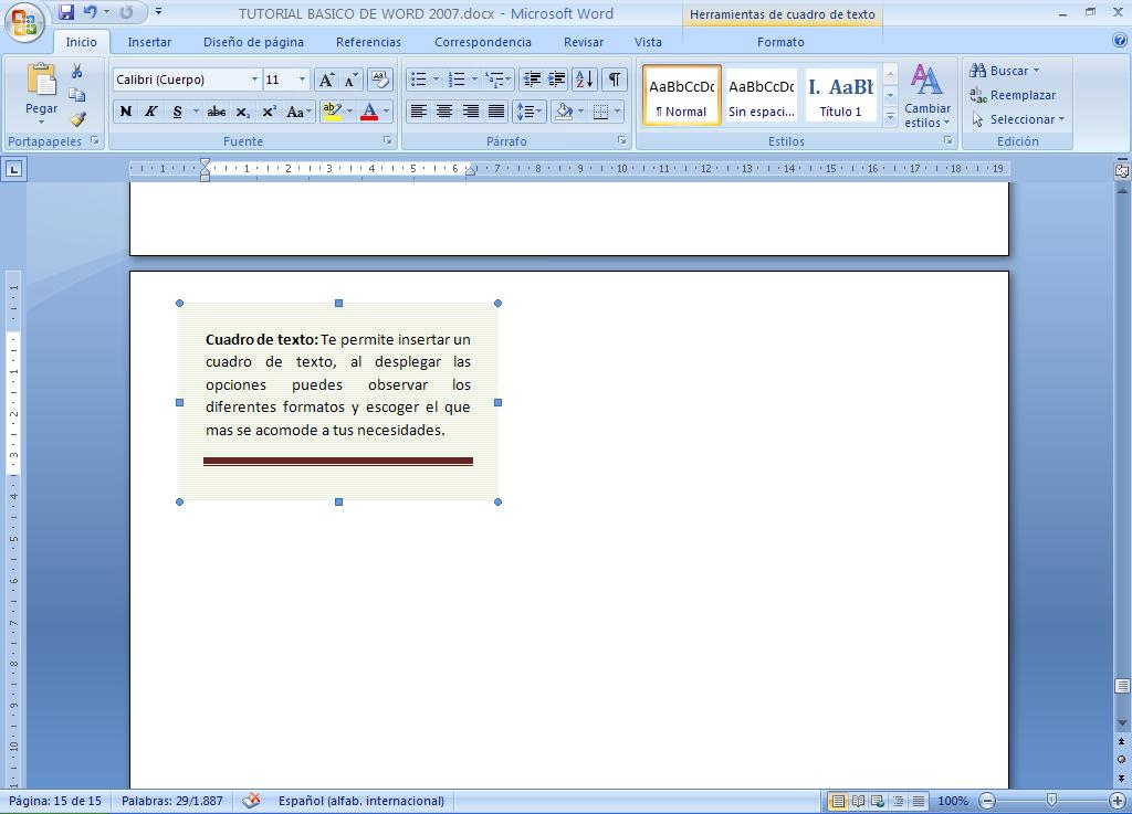 Как сделать текст в word 2007