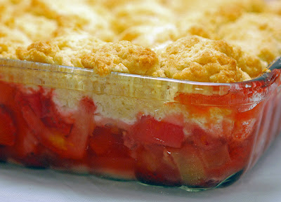 how to cook rhubarb cobbler