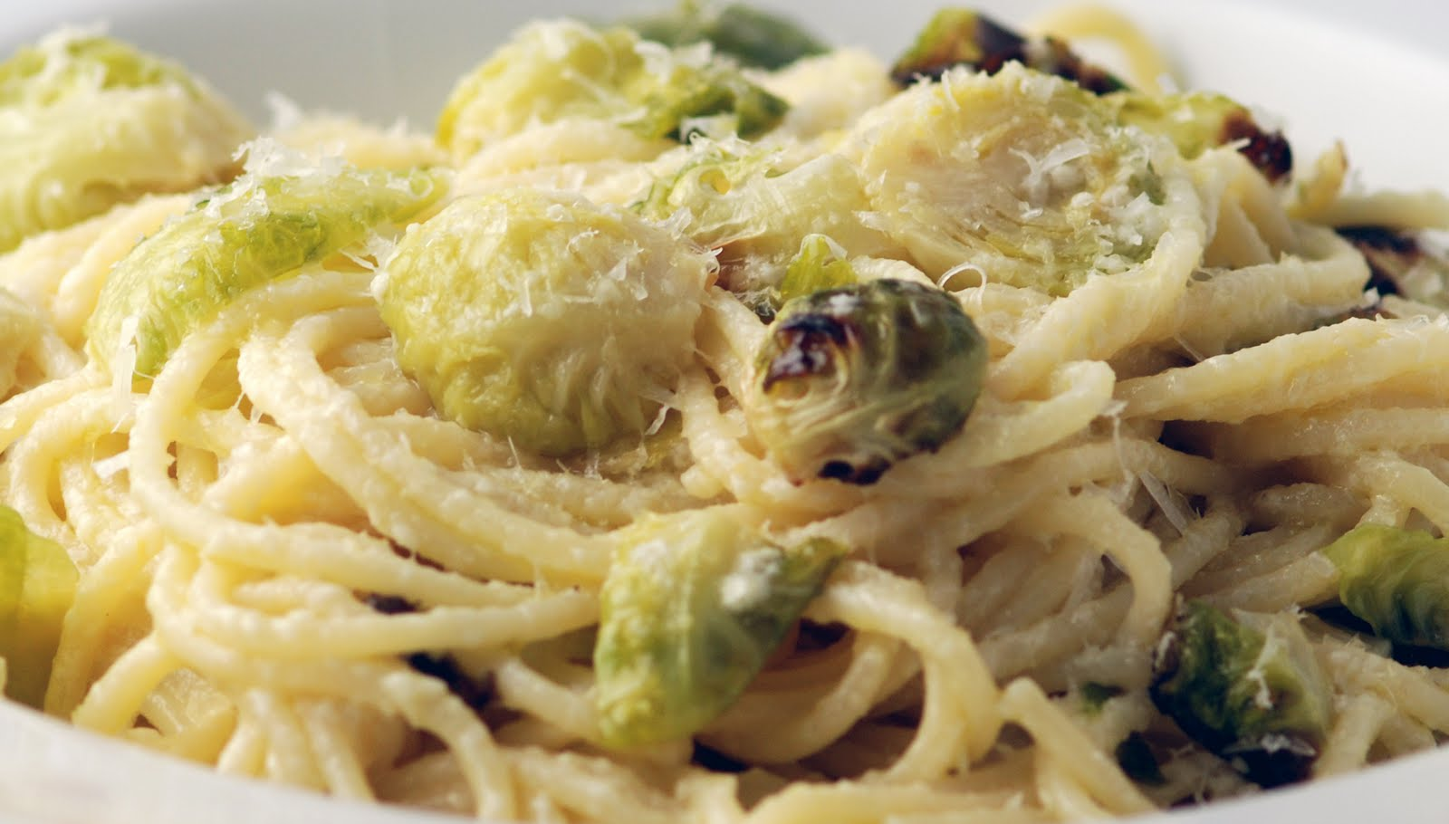 Vegetable Matter: Lemony Pasta with Roasted Brussels Sprouts