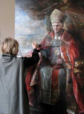 Official Vatican Portrait of Benedict XVI