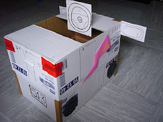 Hacer estanterias con cajas de carton